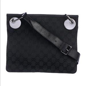 Authentic Gucci bag crossbody black